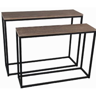 2 Piece Console Table Set | Wayfair