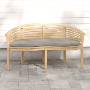 Mazie Teak Bench By August Grove