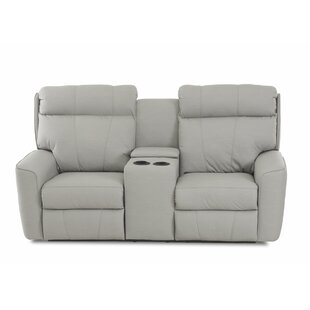 Chau Power Reclining Loveseat With Console by Red Barrel Studio Today Only Sale
