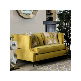 Shop Shields Loveseat by Everly Quinn