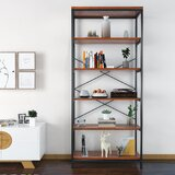 Provenzano 70.9 H x 31.6 W Metal Etagere Bookcase (Set of 2) by 17 Stories