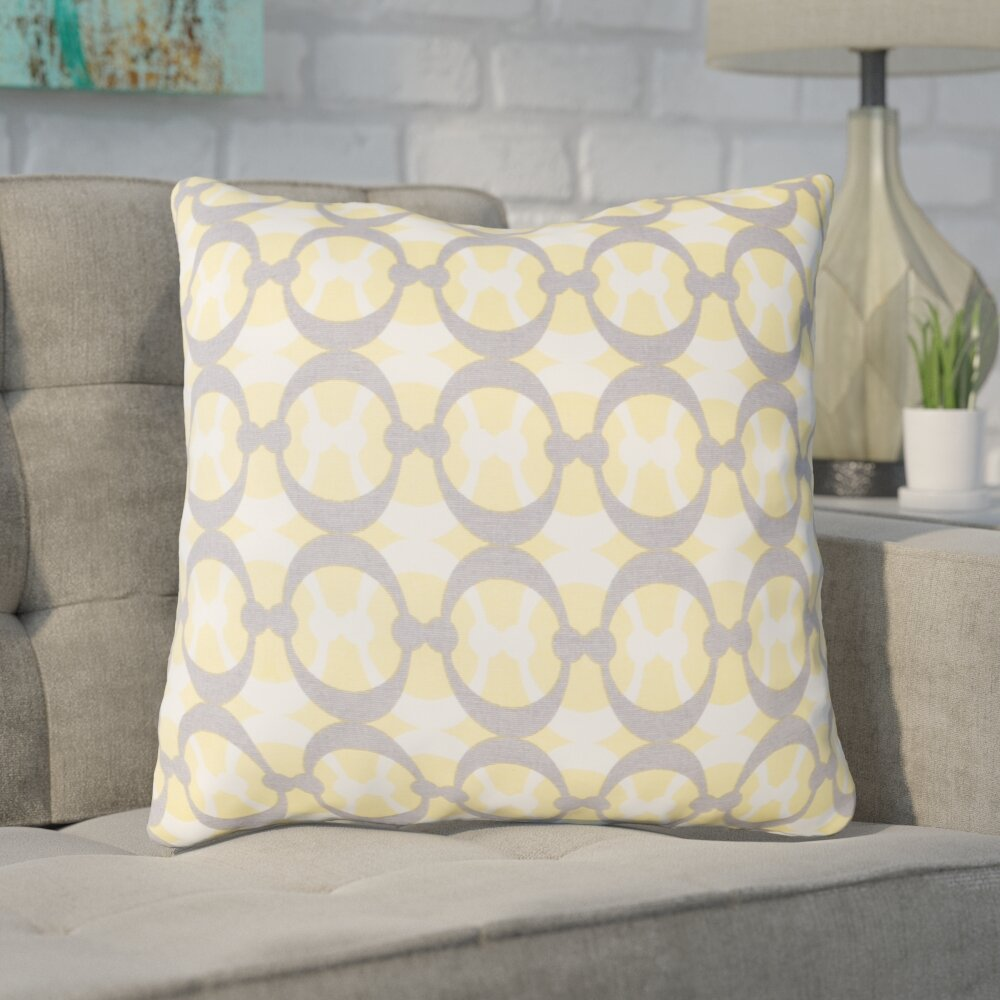 Ivy Bronx Clio Cotton Throw Pillow Wayfair