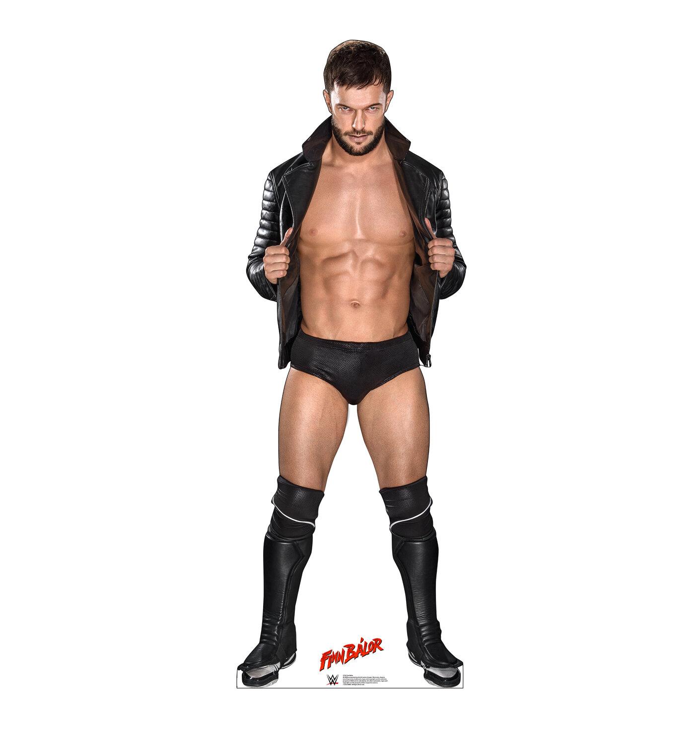 Advanced Graphics Finn Balor Open Leather Jacket Wwe Standup Wayfair