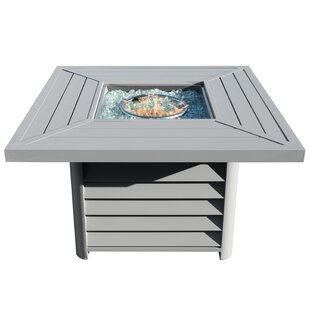 Borealis Aluminum Propane Fire Pit Table