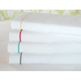 Gala 4 Piece 200 Thread Count Egyptian-Quality Cotton Sheet Set By Eastern Accents