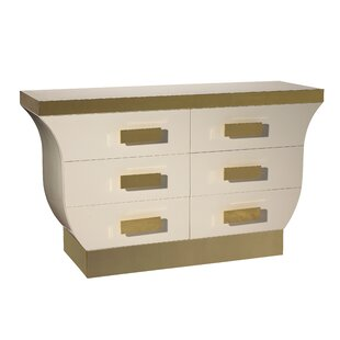 Kepler Mint 6 Drawer Chest by Everly Quinn