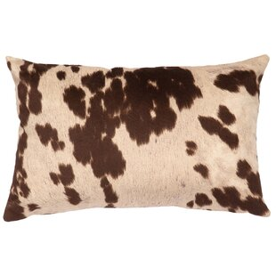 Chontel Faux Hair On Hide Lumbar Pillow by Bloomsbury Market Read Reviews