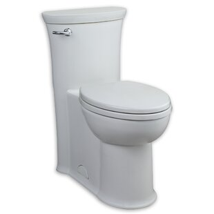 American Standard Trimbrook FloWise RH 1.28 GPF Elongated One-Piece Toilet