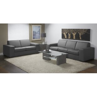 Where buy  Wenlock 2 Piece Leather Living Room Set by Orren Ellis Reviews (2019) & Buyer's Guide