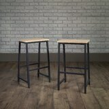 Donovan 23.5'' Counter Stool (Set of 2) by Laurel Foundry Modern Farmhouse