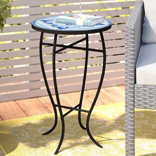 Cocoa Metal Bistro Table by Fleur De Lis Living 2019 Online
