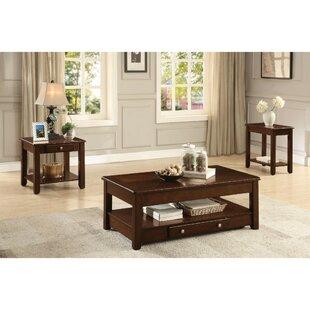 Canora Grey Bellin 3 Piece Coffee Table Set