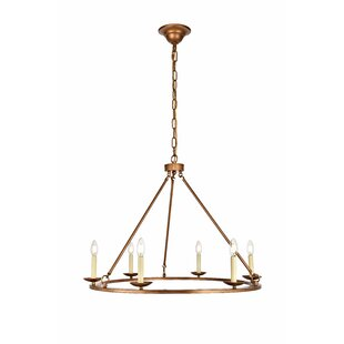 Gold chandeliers youll love wayfair save aloadofball Gallery