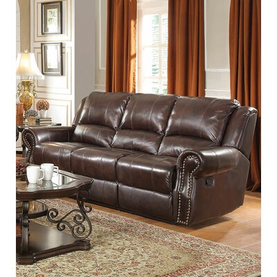 Reclining Sofa Leather Sofas You Ll Love In 2019 Wayfair
