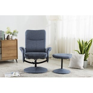 Sheela Swivel Lounge Chair And Footstool By 17 Stories