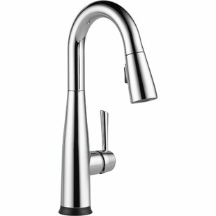Delta Essa Pull Down Touch Single Handle Bar Faucet with and Touch2O® Technology and MagnaTite® Docking