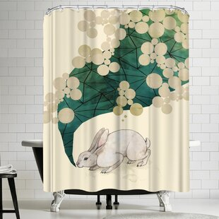 East Urban Home Laura Graves Spring Shower Curtain