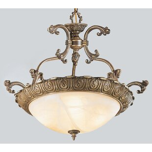 Classic Lighting Montego Bay 4-Light Bowl Pendant