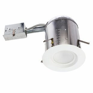 Sunco Lighting 16W 5000K Smooth Remodel Can and Retrofit LED Recessed Lighting Kit (Set of 12)