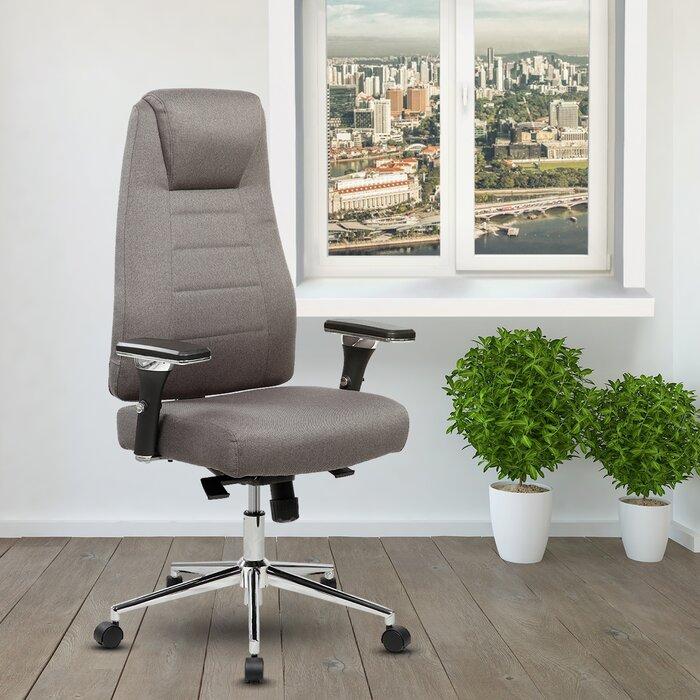 Ivy Bronx Henson Height Adjustable Executive HighBack Home Office Interesting Back Home Furniture