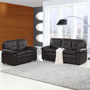 Inexpensive Brittanie 2 Piece Living Room Set by Ebern Designs Reviews (2019) & Buyer's Guide