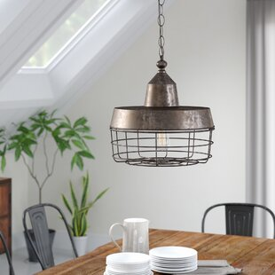 17 Stories Katey 1-Light Dome Pendant