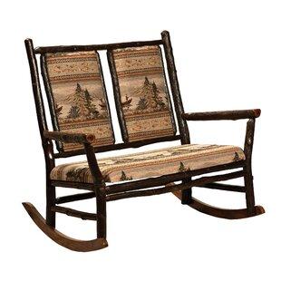Loon Peak Queens Double Rocking Chair