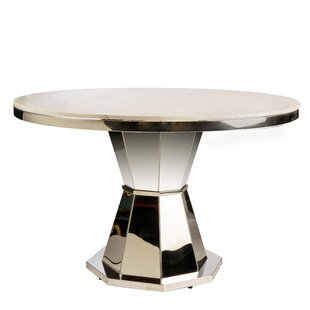 Everly Quinn Needham Marble Dining Table
