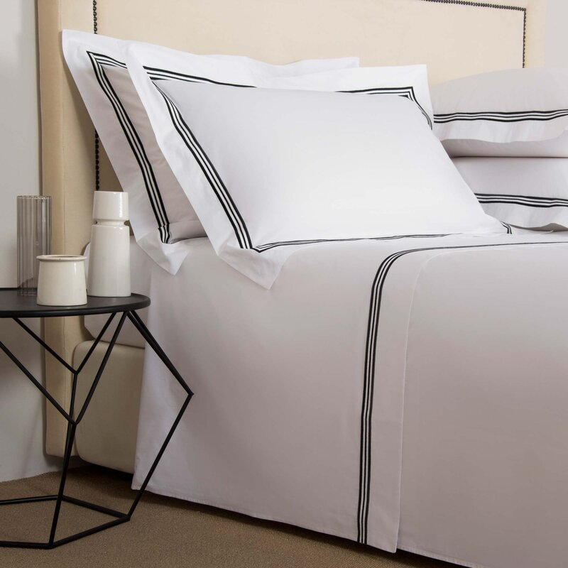 Frette Triplo Popeline 250 Thread Count 100 Cotton Percale Sheet Set Perigold