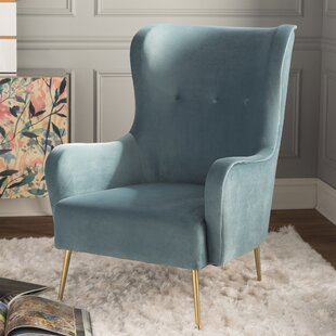 Purchase Burke Wingback Chair By Mistana