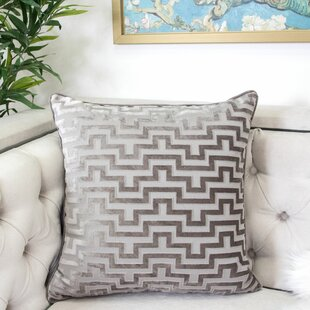 West Mersea Modern Throw Pillow by House of Hampton Wonderful