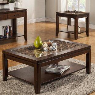 Granada 2 Piece Coffee Table Set Alpine Furniture Bargain ...