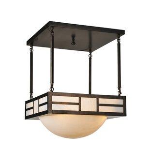 Buena Park 4-Light Pendant by Meyda Tiffany