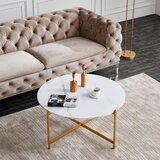 Sayles Cross Legs Coffee Table by Mercer41