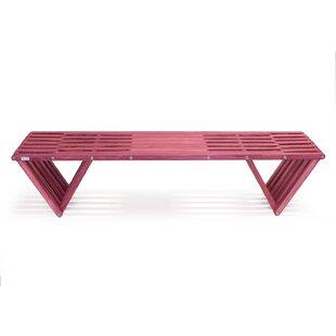 Xquare Eco-Friendly X70 Pine Garden Bench by GloDea