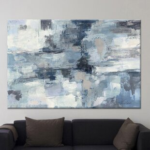 'In the Clouds' by Silvia Vassileva Painting Print on Canvas