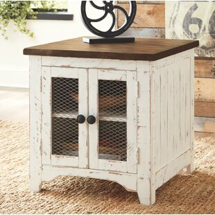 Read Reviews Bromsgrove End Table with Storage by Gracie Oaks