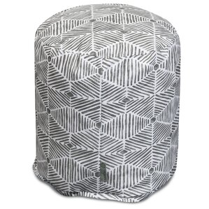 Charlie Pouf Ottoman by Majestic Home Goods