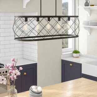 Meryl Traditional 5-Light Kitchen Island Pendant