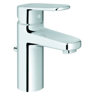 Grohe Europlus Centerset Single Hole Bathroom Faucet with Drain Assembly