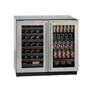 42 Bottle 3000 Series Dual Zone Built-in Wine Cooler