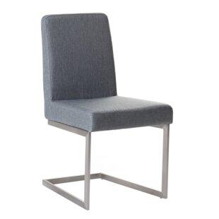 Teshia Arctic Upholstered Dining Chair (Set of 2) by Orren Ellis