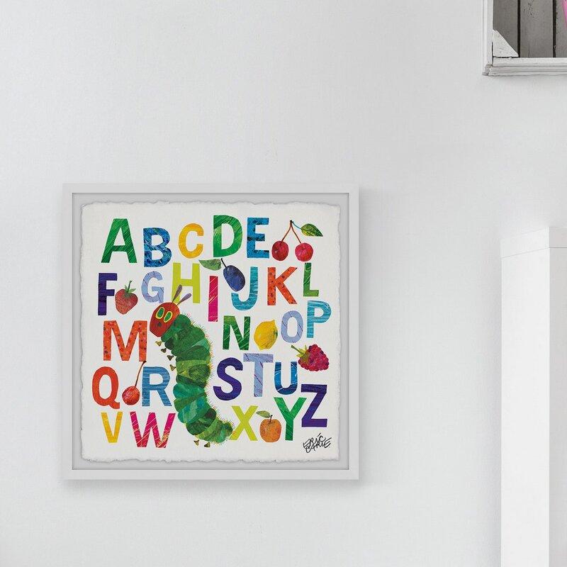 Caterpillar Alphabet Art Print