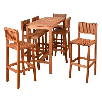 Brighton 7 Piece Bar Height Dining Set