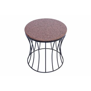 Bellamy Contemporary Style Iron End Table by Gracie Oaks