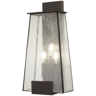 Wrought Studio Blecha 3-Light Outdoor Flush Mount