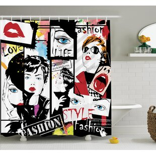Modern Fashion Shower Curtain Set