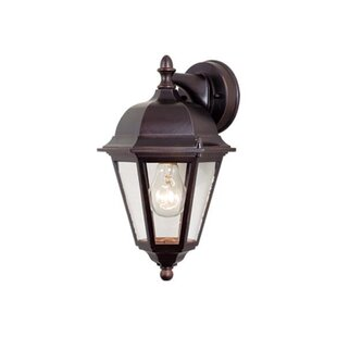 Shopping for Faulks 1-Light Outdoor Wall Lantern By Charlton Home