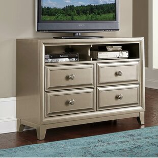 Sharla 4 Drawer Dresser by House of Hampton