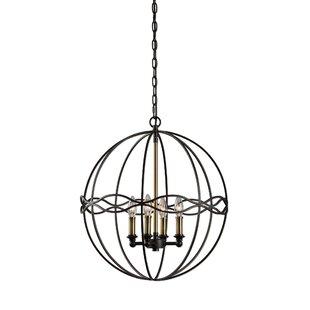 Darby Home Co Moravia 4-Light Chandelier